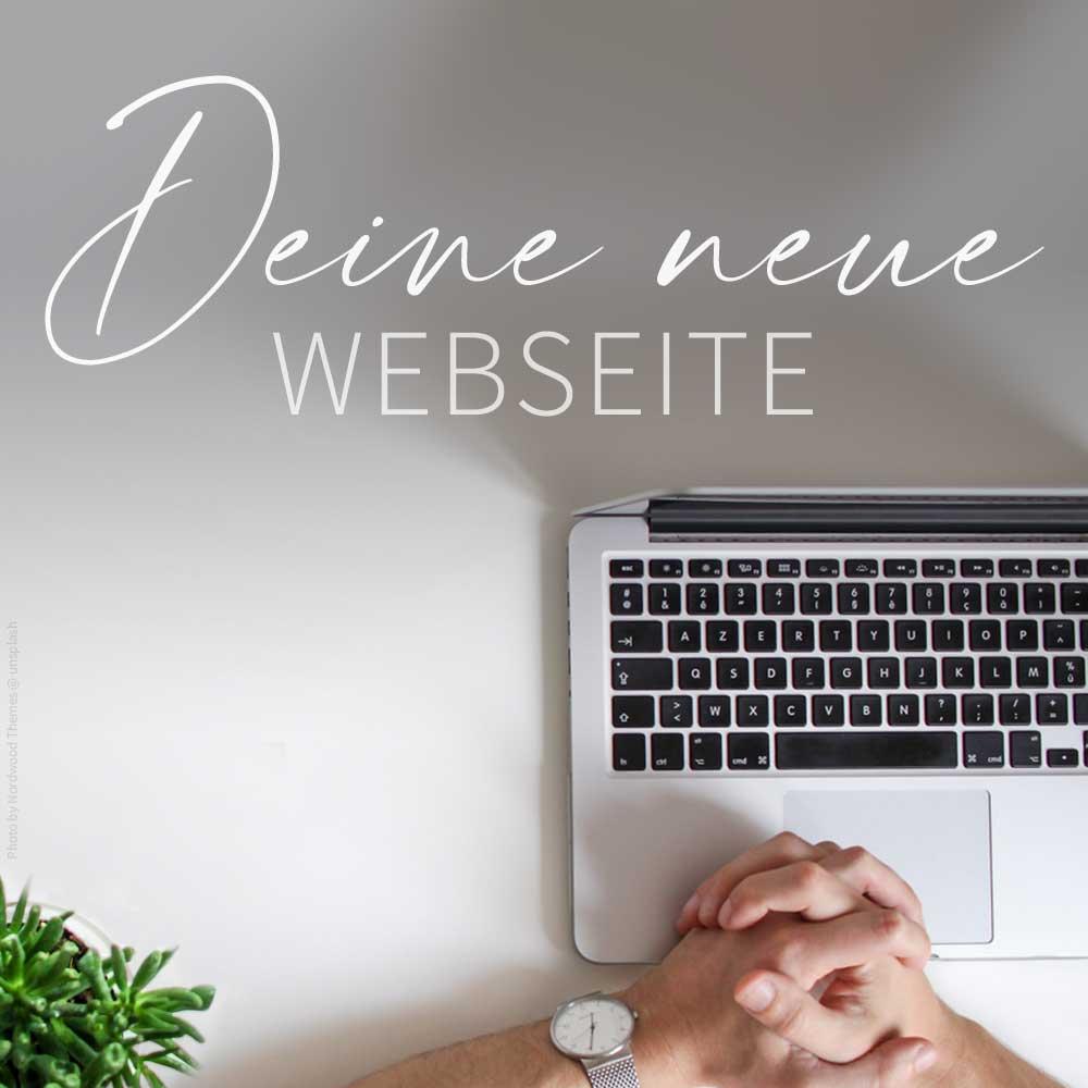 Eine neue Webseite erstellen lassen