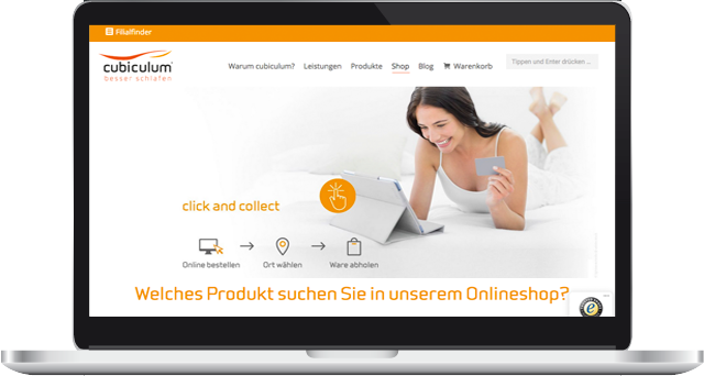 cubiculum Onlineshop und Webdesign Bettenfachgeschäft