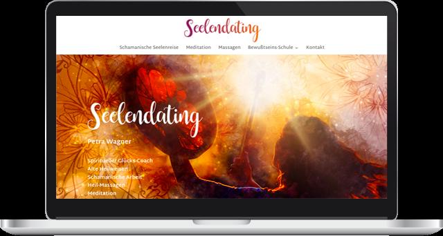 Webdesign Seelendating Petra Wagner Spiritueller Glückscoach