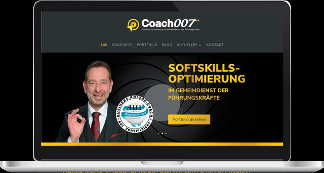 Coach007 Stefan Biggeleben Redesign Webpräsenz