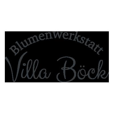 Logo Blumenwerkstatt Villa Böck